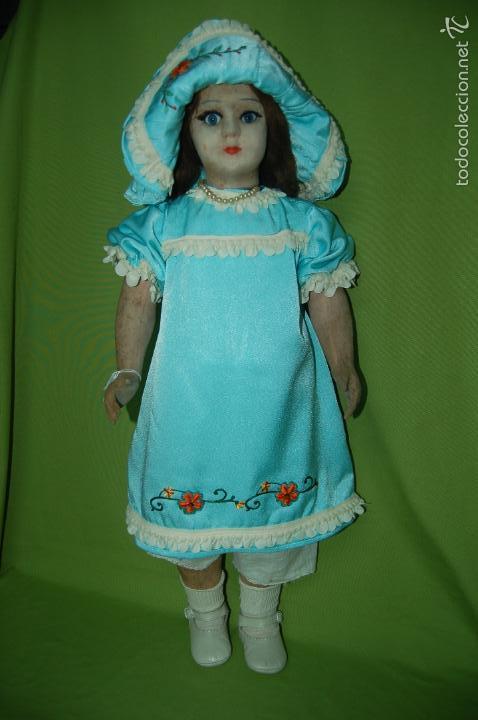 Muñeca española clasica: muñeca de florido años 20 - Foto 14 - 54222836