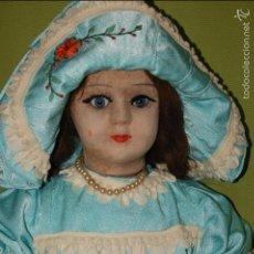 Muñeca española clasica: MUÑECA DE FLORIDO AÑOS 20. Lote 54222836