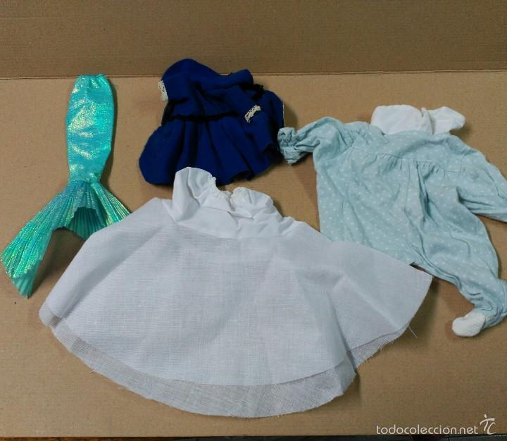 Muñeca española clasica: lote de vestidos y complementos de muñecas - Foto 4 - 56826148