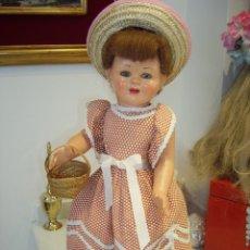 Muñeca española clasica: PRECIOSA MUÑECA ESPAÑOLA, CARTÓN PIEDRA, AÑOS 50.. Lote 57001822