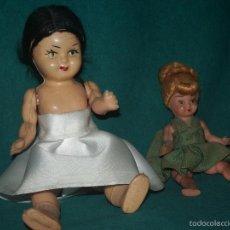 Muñeca española clasica: PAREJA MUÑEQUITAS.. Lote 57020049