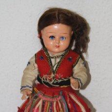 Muñeca española clasica: MU113 MUÑECA REGIONAL. CELULOIDE. ESPAÑA. AÑOS 50. Lote 57524746