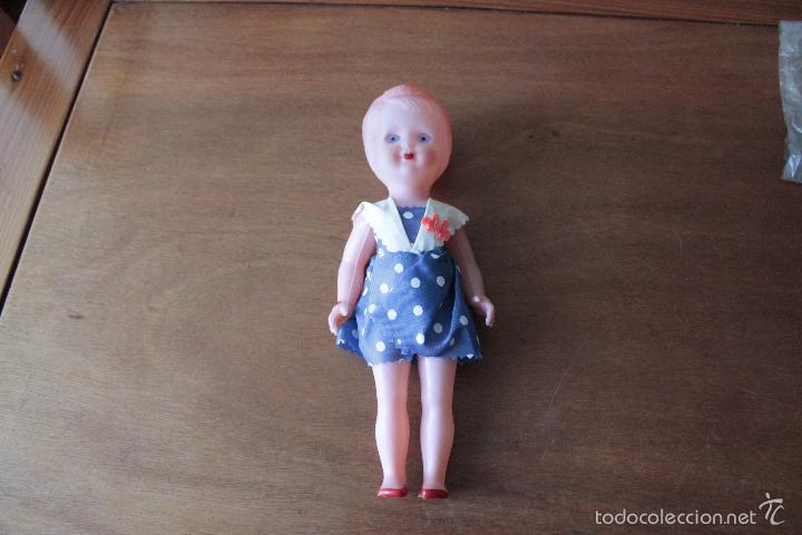Muñeca española clasica: MUÑECA AÑOS 50-60 EN SU BOLSA ORIGINAL - Foto 2 - 57673004