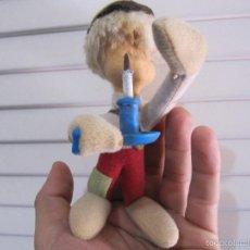 Muñeca española clasica: ANTIGUO MUÑECO DE TRAPO CON ALAMBRE INTERIOR. Lote 57975833