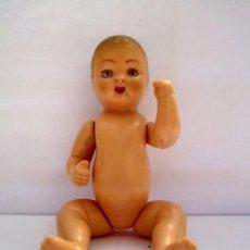 Muñeca española clasica: MUÑECO ESPAÑOL CELULOIDE AÑOS 40 14CM OJOS ARTICULADOS. Lote 58014480