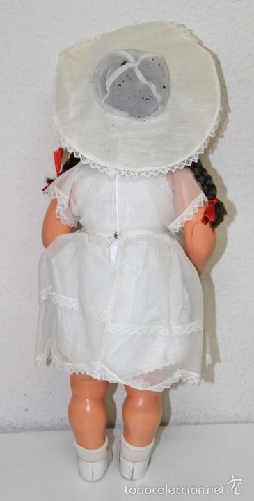 Muñeca española clasica: MU102 CHELITO. CARTÓN PIEDRA. PELO DE MOHAIR. ESPAÑA. FINALES AÑOS 40 - Foto 8 - 56121520