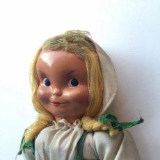 Muñeca española clasica: ANTIGUA RARISIMA Y PRECIOSA MUÑECA - TOMASITA - VESTIDA DE SIRVIENTA DE GONZALIN - AÑOS 40 - CARA DE. Lote 58503575