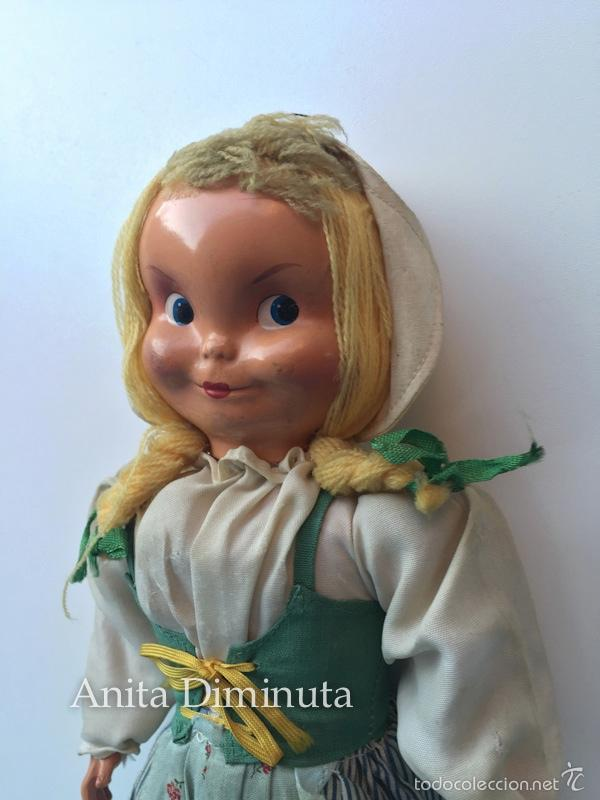 Muñeca española clasica: ANTIGUA RARISIMA Y PRECIOSA MUÑECA - TOMASITA - VESTIDA DE SIRVIENTA DE GONZALIN - AÑOS 40 - CARA DE - Foto 4 - 58503575
