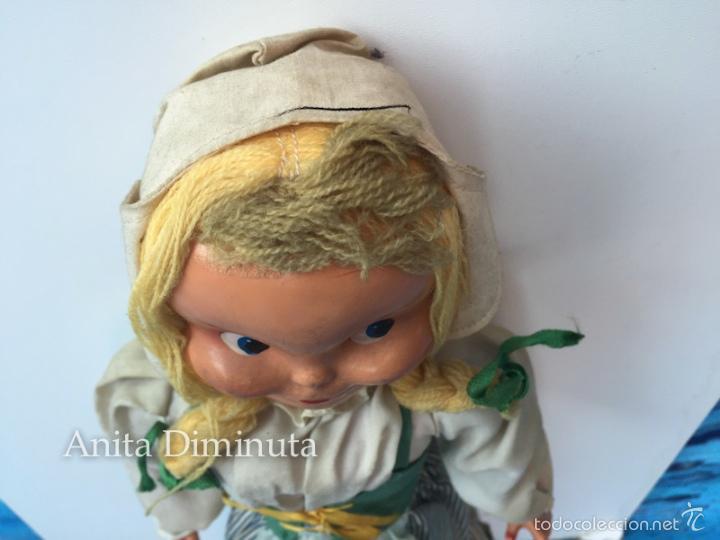 Muñeca española clasica: ANTIGUA RARISIMA Y PRECIOSA MUÑECA - TOMASITA - VESTIDA DE SIRVIENTA DE GONZALIN - AÑOS 40 - CARA DE - Foto 6 - 58503575