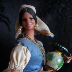 Muñeca española clasica: ANTIGUA MUÑECA DE MARÍN CHICLANA JOVEN TALAVERANA REGIONAL CON ETIQUETA. Lote 58628017