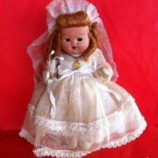 Klassische spanische Puppen - Muñeca terracota vestido Comunión original, años 30-40 - 59907659
