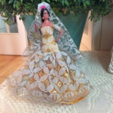 Muñeca española clasica: PEQUEÑA BAILAORA FLAMENCA MARÍN CHICLANA CON ETIQUETA.. Lote 60169011