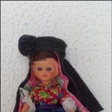 Muñeca española clasica: MUÑECA CON TRAJE REGIONAL, ORIGINAL AÑOS 50. Lote 60280891