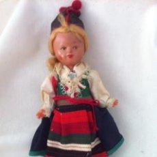 Muñeca española clasica: PRECIOSA MUY ANTIGUA MUÑECA DE CELULOIDE REGIONAL. Lote 60516267
