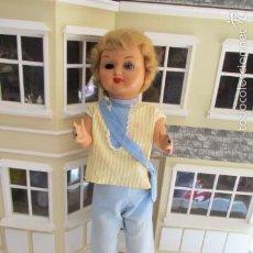 Muñeca española clasica: ANTIGUA MUÑECA PARA RESTAURAR DE CARTON PIEDRA. Lote 105451396