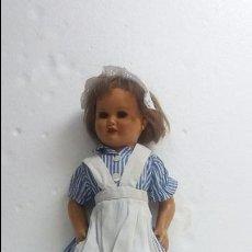 Muñeca española clasica: BONITA MUÑECA DE CARTON PIEDRA.AÑOS 40.. Lote 60873199