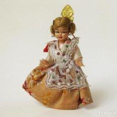 Muñeca española clasica: MUÑECA PONYTAIL CON EL VESTIDO O TRAJE TIPICO DE FALLERA. Lote 61948816