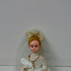 Muñeca española clasica: MUÑEQUITA DE COMUNION AÑOS 50. Lote 62291986