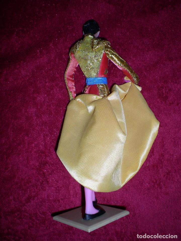 Muñeca española clasica: !!raro muñeco figura manolete el torero de muñecas marin spain artesanía hecho ha mano años 50/60 - Foto 2 - 63012208