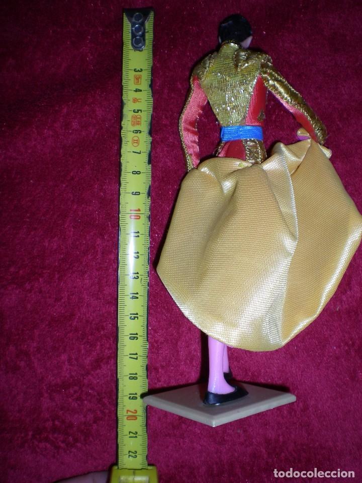 Muñeca española clasica: !!raro muñeco figura manolete el torero de muñecas marin spain artesanía hecho ha mano años 50/60 - Foto 3 - 63012208