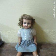 Muñeca española clasica: MUÑECA ESPAÑOLA AÑOS 1940. Lote 63173840