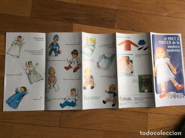 ANTIGUO FIGURIN DE VESTIDOS NINUA (Juguetes - Reproducciones Vestidos y Accesorios Muñeca Española Clásica)