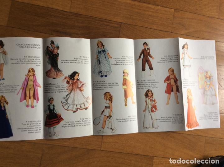 Muñeca española clasica: ANTIGUO FIGURIN DE VESTIDOS NINUA - Foto 2 - 64842651