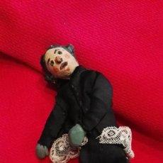 Muñeca española clasica: ANTIGUO MUÑECO GUIÑOL TERRACOTA CATALANA- AÑOS 20-30. ÚNICO!!!. RAREZA.. Lote 65433367