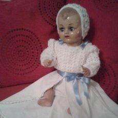 Muñeca española clasica: PRECIOSO MUÑECO PEPIN,TAMAÑO GRANDE 50 CM ,CARTON PIEDRA ,CON IMPRESIONATE VESTIDO. Lote 66485694