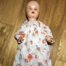 Muñeca española clasica: PARA MUÑECA MARIQUITA PEREZ O SIMILAR, VESTIDO CON FLORES. Lote 67172897
