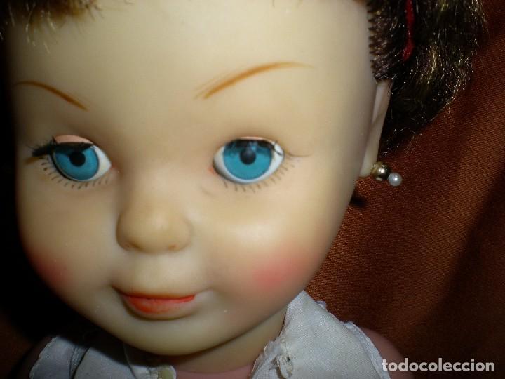 Muñeca española clasica: preciosa mirinda de famosa años 50/60 pelo mechas castañas y doradas muy buen estado - Foto 4 - 68647345