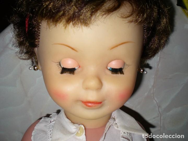 Muñeca española clasica: preciosa mirinda de famosa años 50/60 pelo mechas castañas y doradas muy buen estado - Foto 7 - 68647345