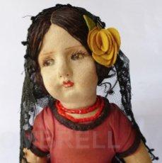 Muñeca española clasica: RARA MUÑECA DE JOSÉ FLORIDO AÑOS 20. Lote 69369997
