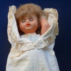 Muñeca española clasica: MUÑECA ANTIGUA. (40 CM DE LARGO) CONTOR. Lote 71651755