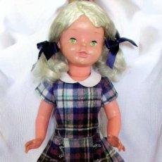Muñeca española clasica: PRECIOSA MUÑECA DE FLORIDO 1960, CREO QUE DORABEL- DOLL POUPÉE. Lote 71818179