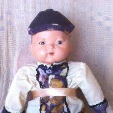 Muñeca española clasica: ANTIGUO PRECIOSO MUÑECO ORIENTAL ,MARCADO 2062. Lote 72021559
