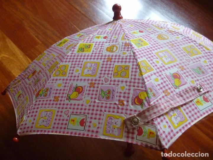 SOMBRILLA PARAGUAS MUÑECA 38 CM (Juguetes - Reproducciones Vestidos y Accesorios Muñeca Española Clásica)