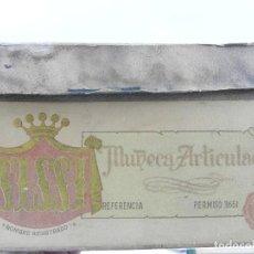 Muñeca española clasica: ANTIGUA CAJA DE MUÑECA SISSI AÑOS 50,. Lote 73700423