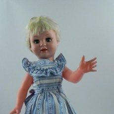 Muñeca española clasica: MUÑECA DE LOS AÑOS 60, COETANEA A MUÑECA MARISOL, ACTRIZ MUY QUERIDA POR LAS NIÑAS ESPAÑOLAS EN LA Q. Lote 74484947