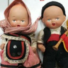 Muñeca española clasica: MUÑECOS ANTIGUOS DE TERRACOTA. Lote 76030453