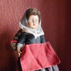 Muñeca española clasica: ANTIGUA MUÑECA DE CELULOIDE CON VESTIDO ORIGINAL DE 19 CM. DE ALTURA.. Lote 76789171