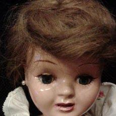 Muñeca española clasica: FANTASTICA MUÑECA ANTIGUA TERESIN. CABEZA DE CELULOIDE MARCADA EN LA NUCA CON SU NOMBRE. Lote 76950857