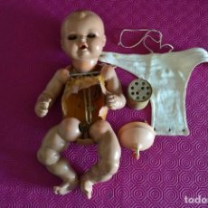 Muñeca española clasica: PIEZAS ANTIGUA MUÑECA. Lote 77642721