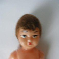 Muñeca española clasica: MUÑECA ( 15,5 CM ) CELULOIDE PELO MOHAIR AÑOS 50 - 60 - SIN USO. Lote 78418233