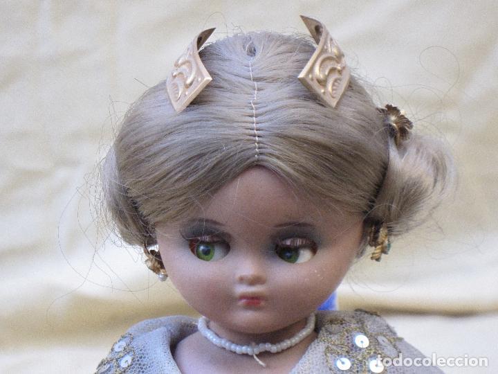 Muñeca española clasica: MUÑECA ANTIGUA CON TRAJE REGIONAL - FALLERA O VALENCIANA - OJOS MOVIBLES. - Foto 4 - 78441497