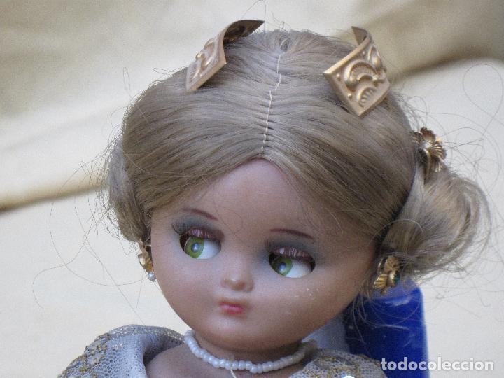 Muñeca española clasica: MUÑECA ANTIGUA CON TRAJE REGIONAL - FALLERA O VALENCIANA - OJOS MOVIBLES. - Foto 9 - 78441497