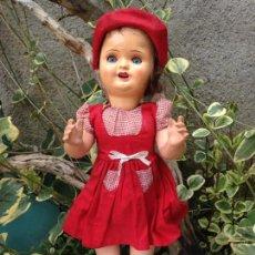Muñeca española clasica: MUÑECA DE DE CARTÓN PIEDRA O COMPOSICIÓN . Lote 79665609