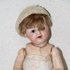 Muñeca española clasica: BEBÉ DE BADALONA. JÄGER AND HOEHL. PORCELANA Y COMPOSICIÓN. ESPAÑA. AÑOS 20. Lote 81306632