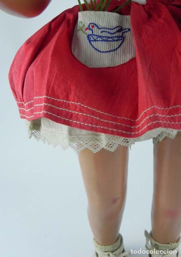 Muñeca española clasica: ANTIGUA MUÑECA DE PRINCIPIOS DE FAMOSA , REALIZADA EN CARTÓN PIEDRA BONITA PELUCA CABELLO MOHAIR - Foto 4 - 81643600