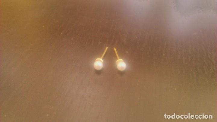 Muñeca española clasica: Pendientes de perla para muñeca nancy y similares . Nuevos sin estrenar - Foto 2 - 114410650